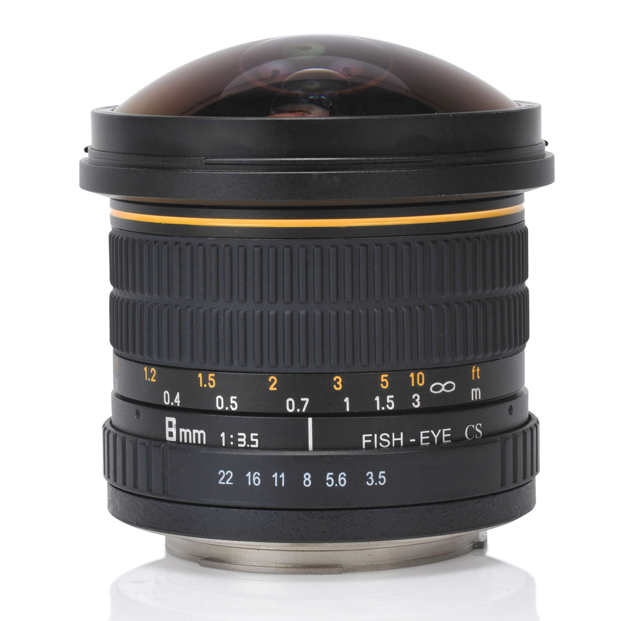 Oshiro 8mm f/3.5 Wide Angle Super Fisheye Lens